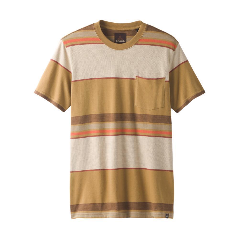 prAna Men's Dominic Crew Shirt BROWN