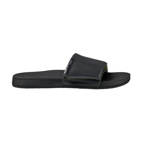 Reef Men's Cushion Bounce Slides Black_bla