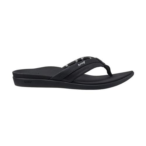 Reef Women's Ortho-Bounce Coast Sandals Black_bla