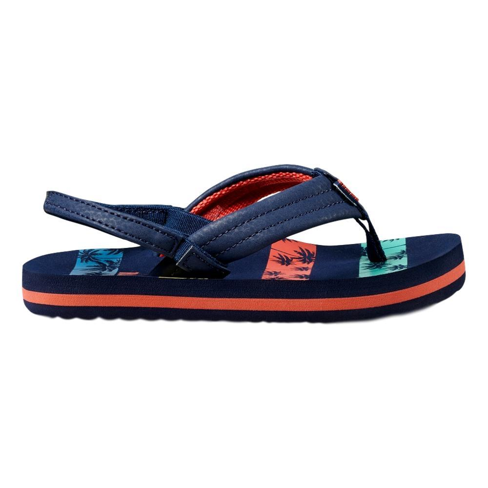 Reef Kids Little Ahi Sandals NVYPLM_NPS