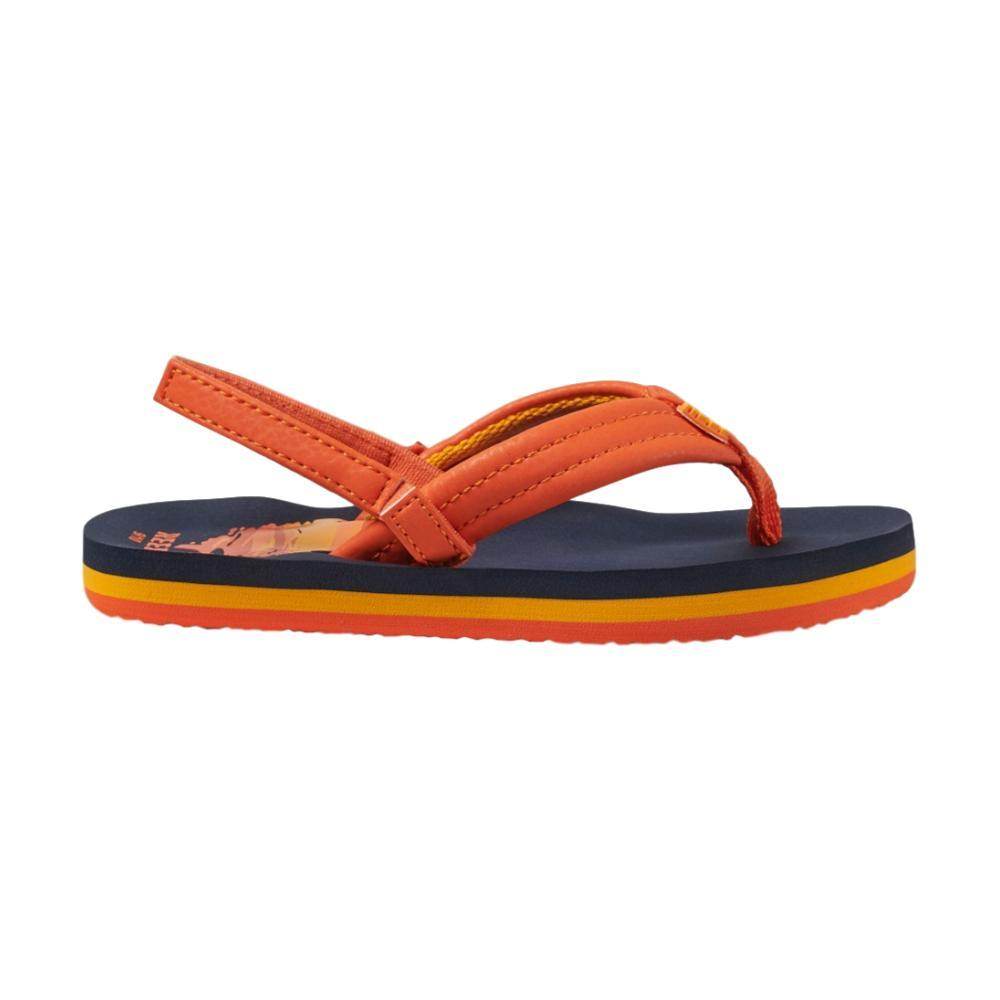 Reef Kids Little Ahi Sandals SUNSET_SUN_