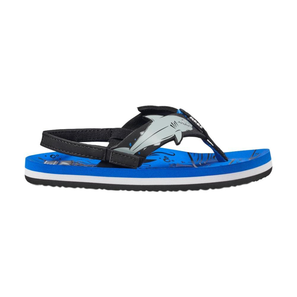 Reef Little Ahi Shark Sandals BLUE_USH