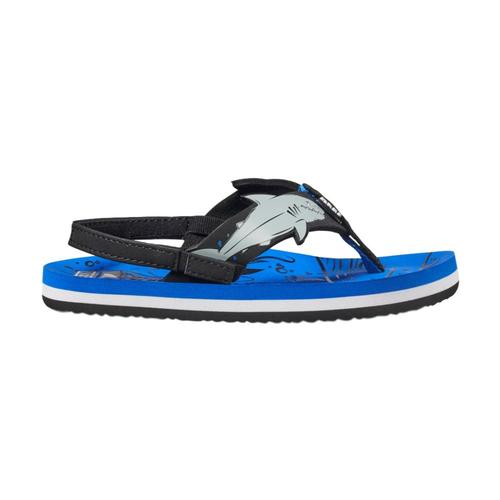 Reef Little Ahi Shark Sandals Blue_ush