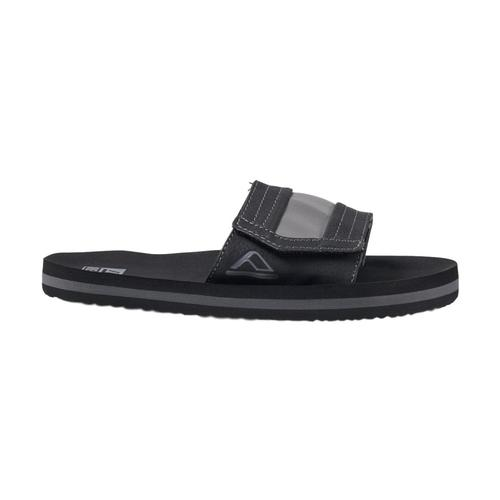 Reef Kids Ahi Slide Sandals Black_bla