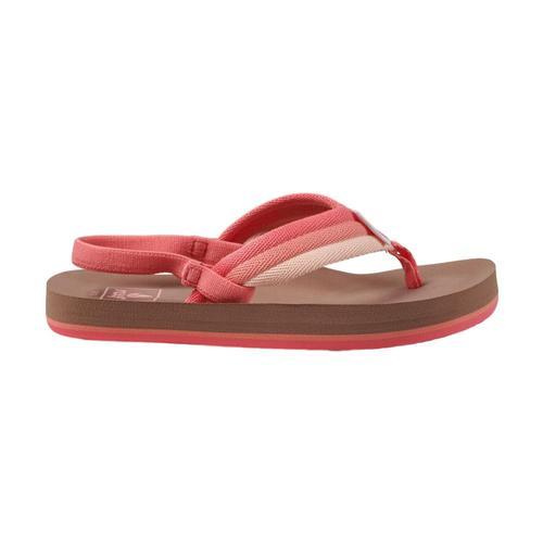 Reef Kids Little Ahi Beach Sandals Rspbry_ras