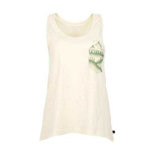 United By Blue Women's Great Heights Pocket Tank Antiquewht