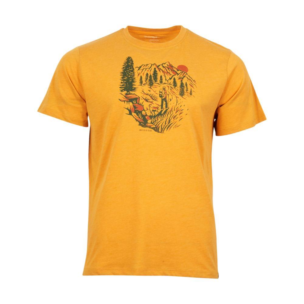 United By Blue Men's Passing Through Tee GOLD