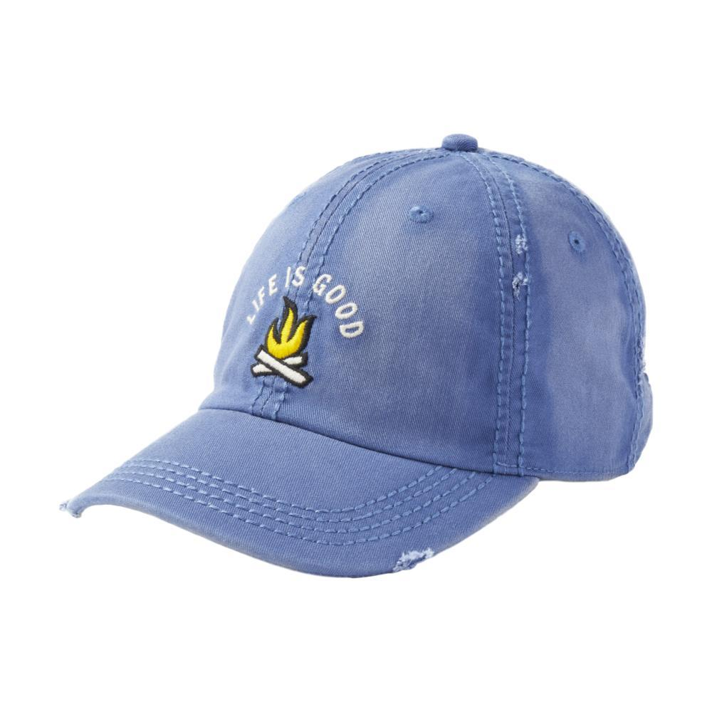 Life is Good Campfire Sunwashed Chill Cap VINTAGEBLU