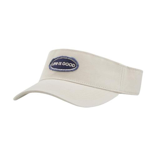 Life is Good LIG Oval Visor Bone
