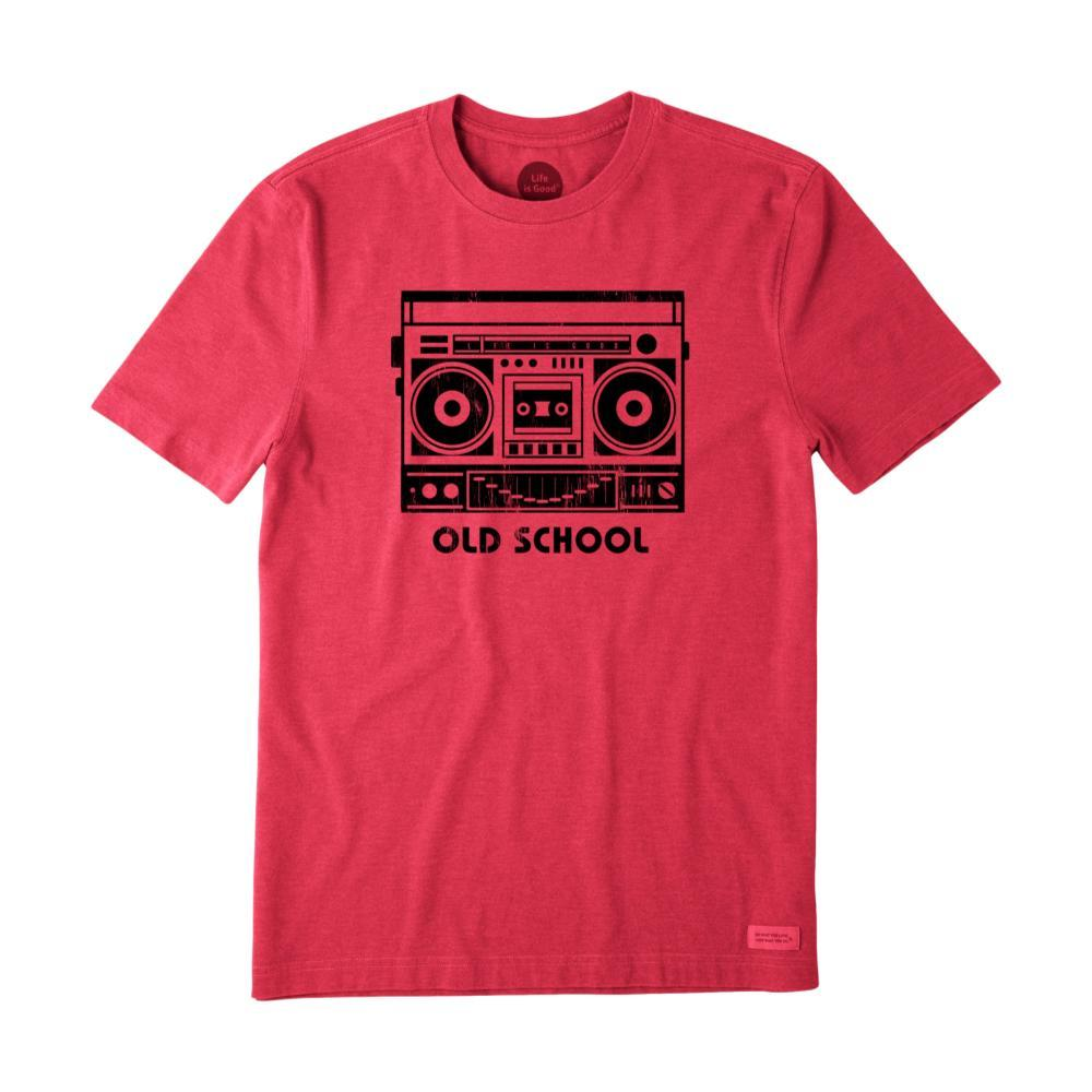 Life Is Good Men's Old School Boombox Crusher Tee AMERICANRD