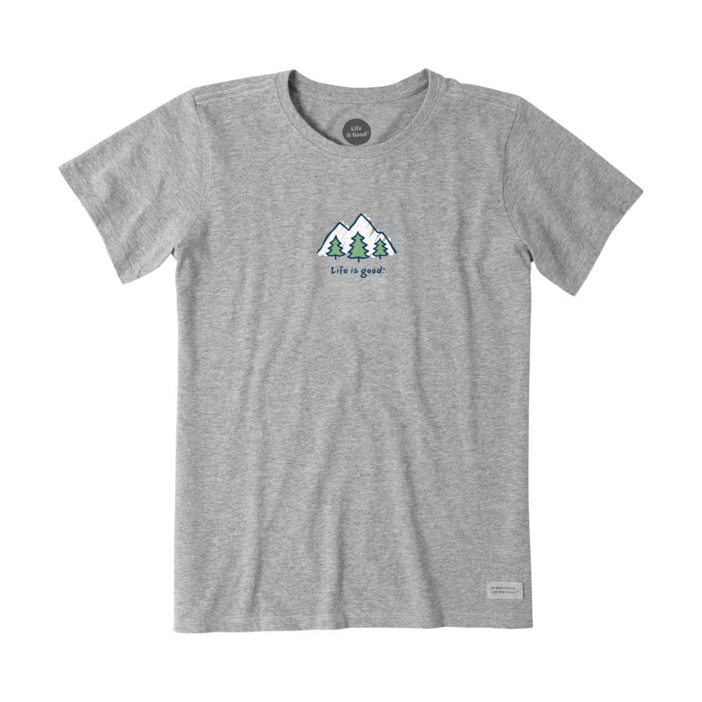 Life Is Good Women's Take It Outside Vintage Crusher Tee HTHGRAY