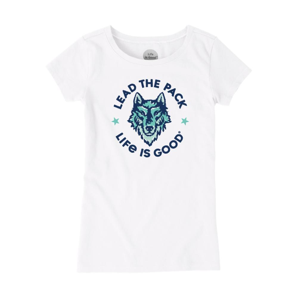 Life is Good Girls Lead The Pack Crusher Tee CLOUDWHITE