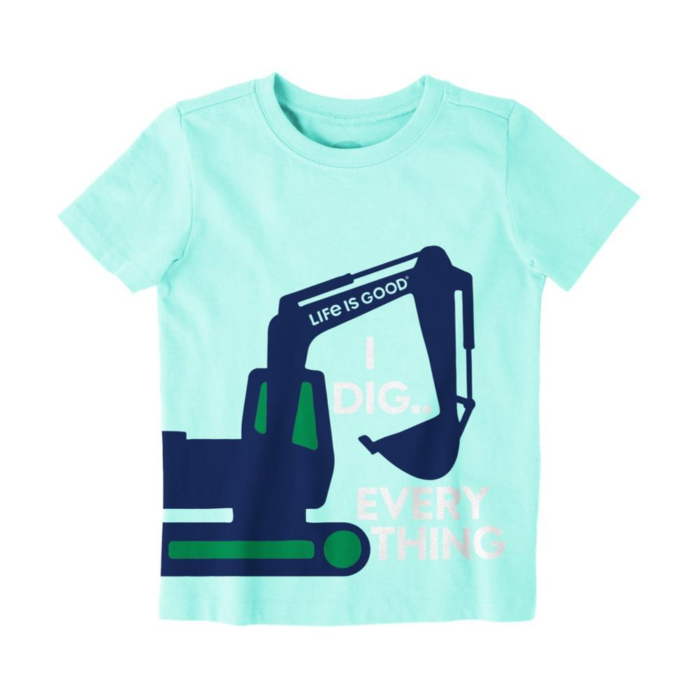 Life is Good Toddler I Dig Everything Crusher Tee BRMDABLUE