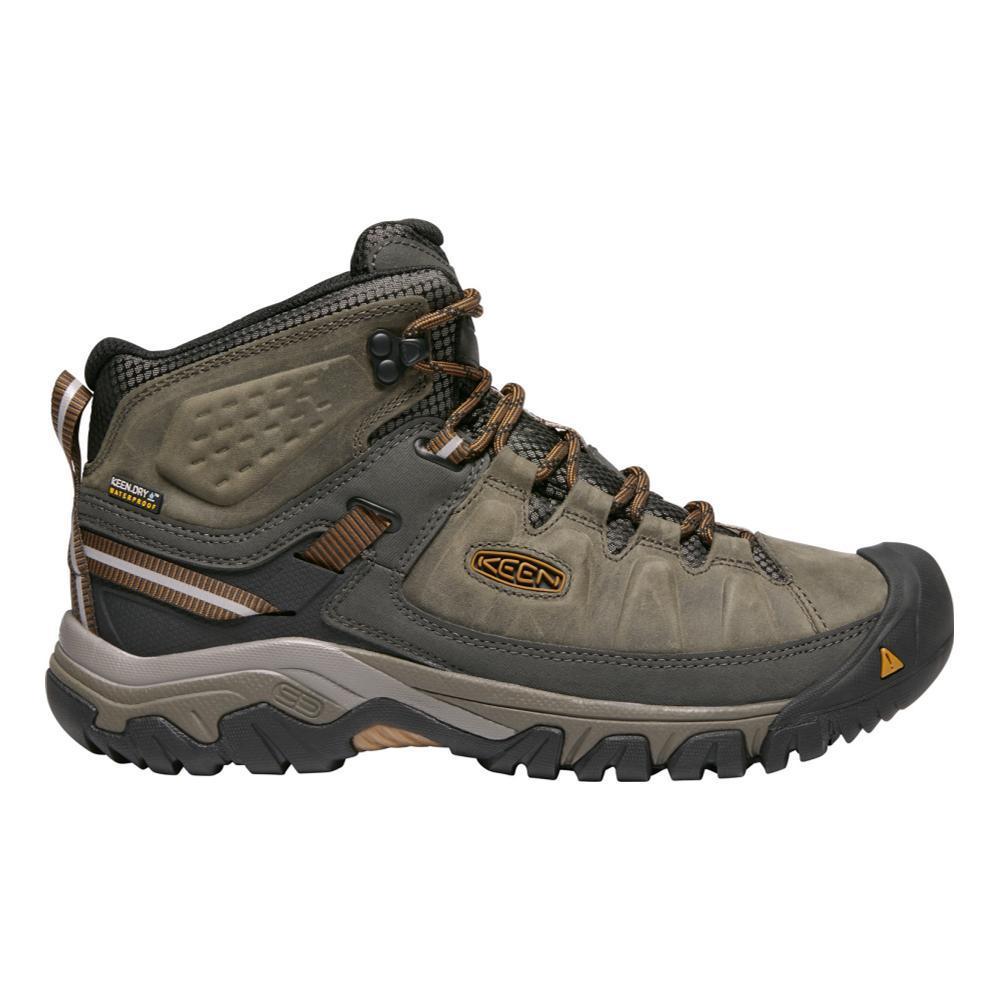 KEEN Men's Targhee III Waterproof Mid Hiking Boots BLKOLV.GLDBN