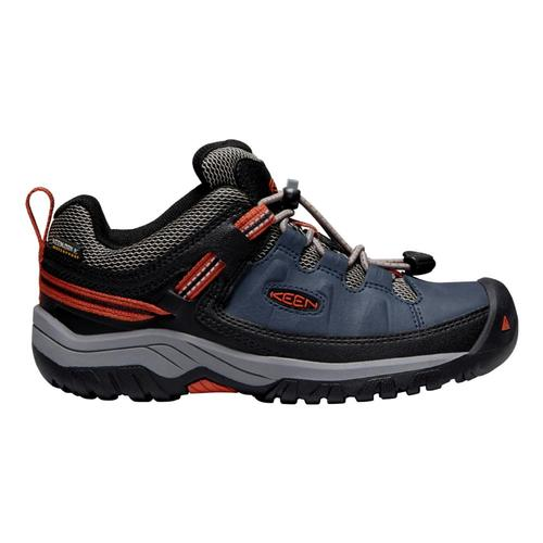 KEEN Youth Targhee Low Waterproof Hiking Shoes Bluenight