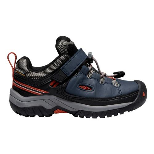 KEEN Kids Targhee Low Waterproof Hiking Shoes Bluenight