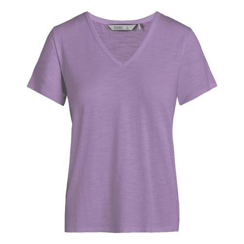 tasc Women's St. Charles V-Neck T Shirt Violet