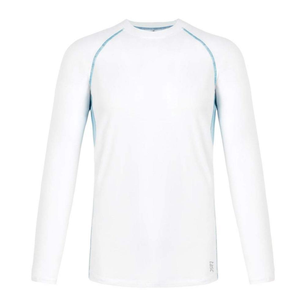 tasc Men's Charge II Long Sleeve Shirt WHCOBLUE