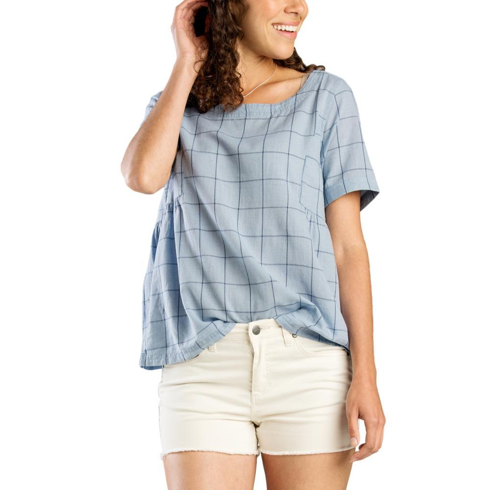 Toad&Co Women's Indigo Swing Top INDIGOPLD