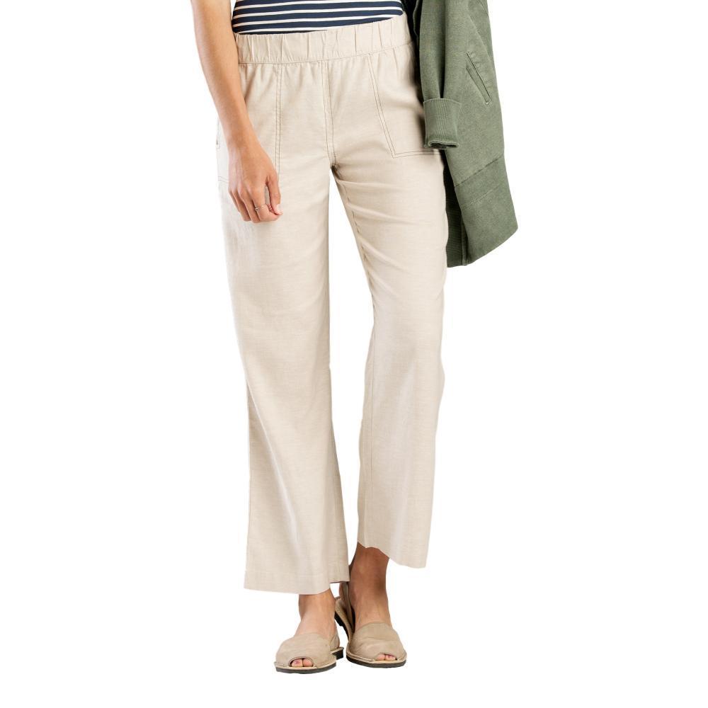 Toad&Co Women's Tara Hemp Pants - 28in OATMEAL