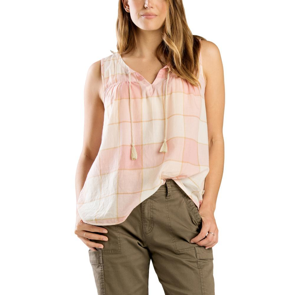 Toad&Co Women's Airbrush Popover Tank PINKSAND