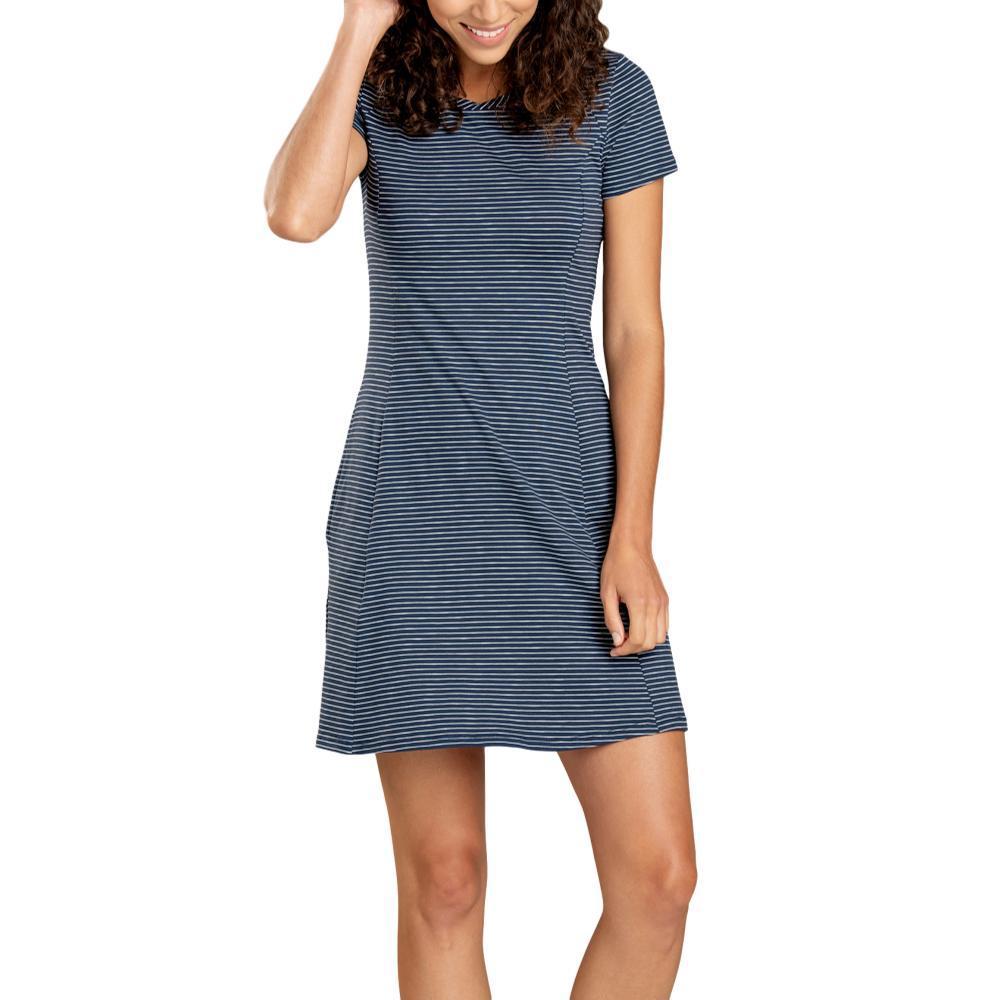Toad&Co Women's Windmere Short Sleeve Dress DEEPNAVY