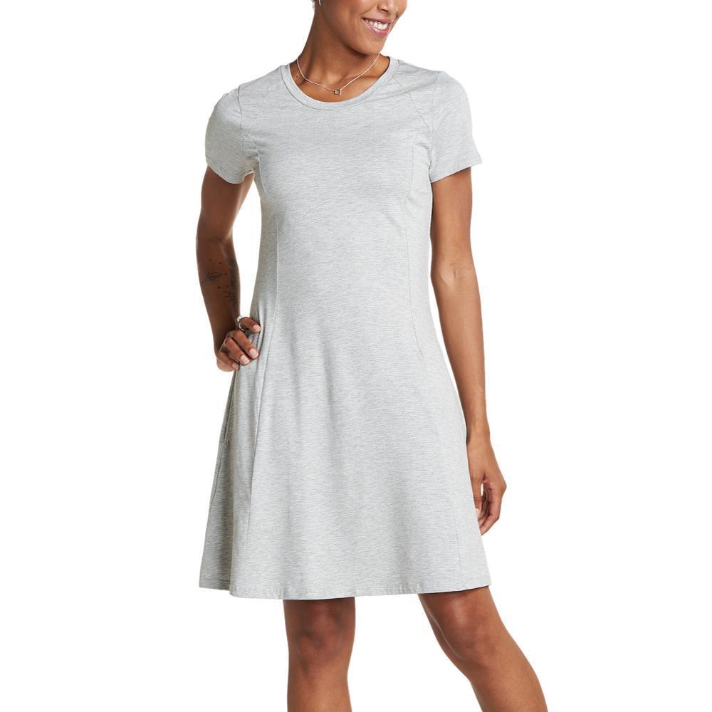 Toad&Co Women's Windmere Short Sleeve Dress HTHRGREY