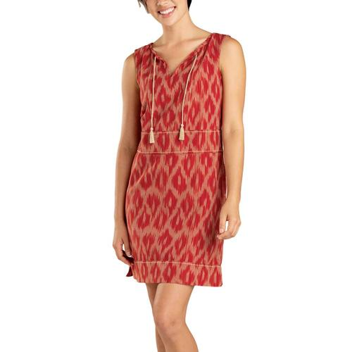 Toad&Co Women's Shakti Sleeveless Dress Coral