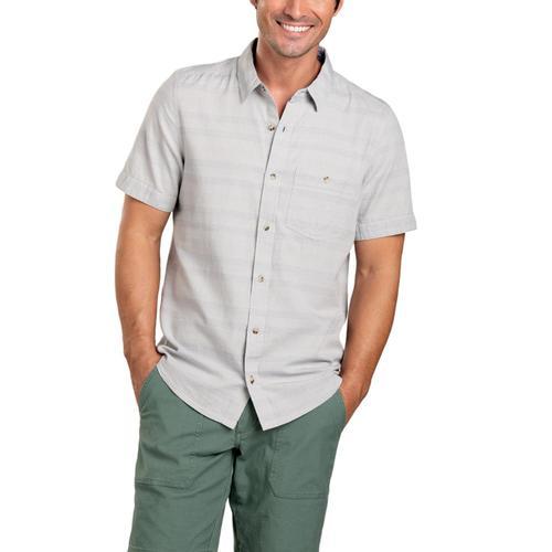 Toad&Co Men's Airlift Short Sleeve Slim Shirt Chrome