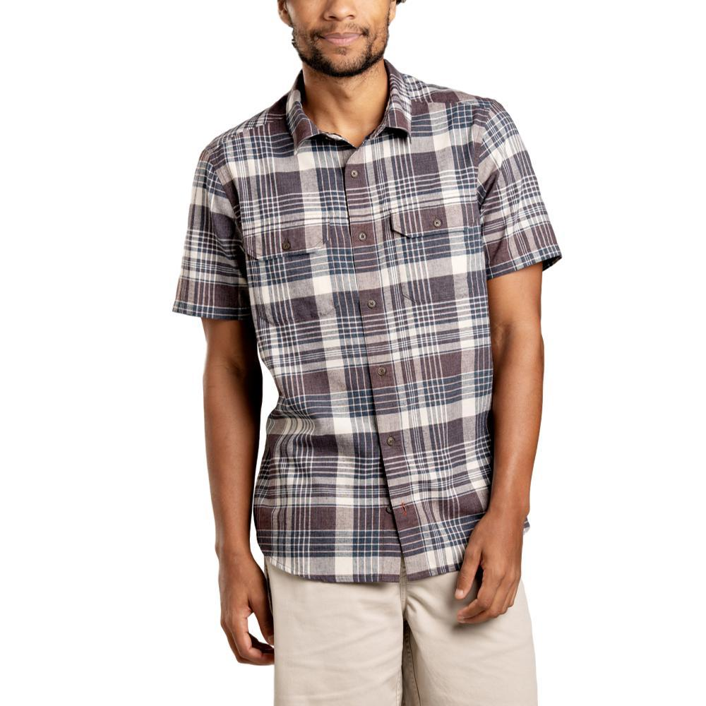 Toad&Co Men's Hookline Short Sleeve Shirt RAISIN