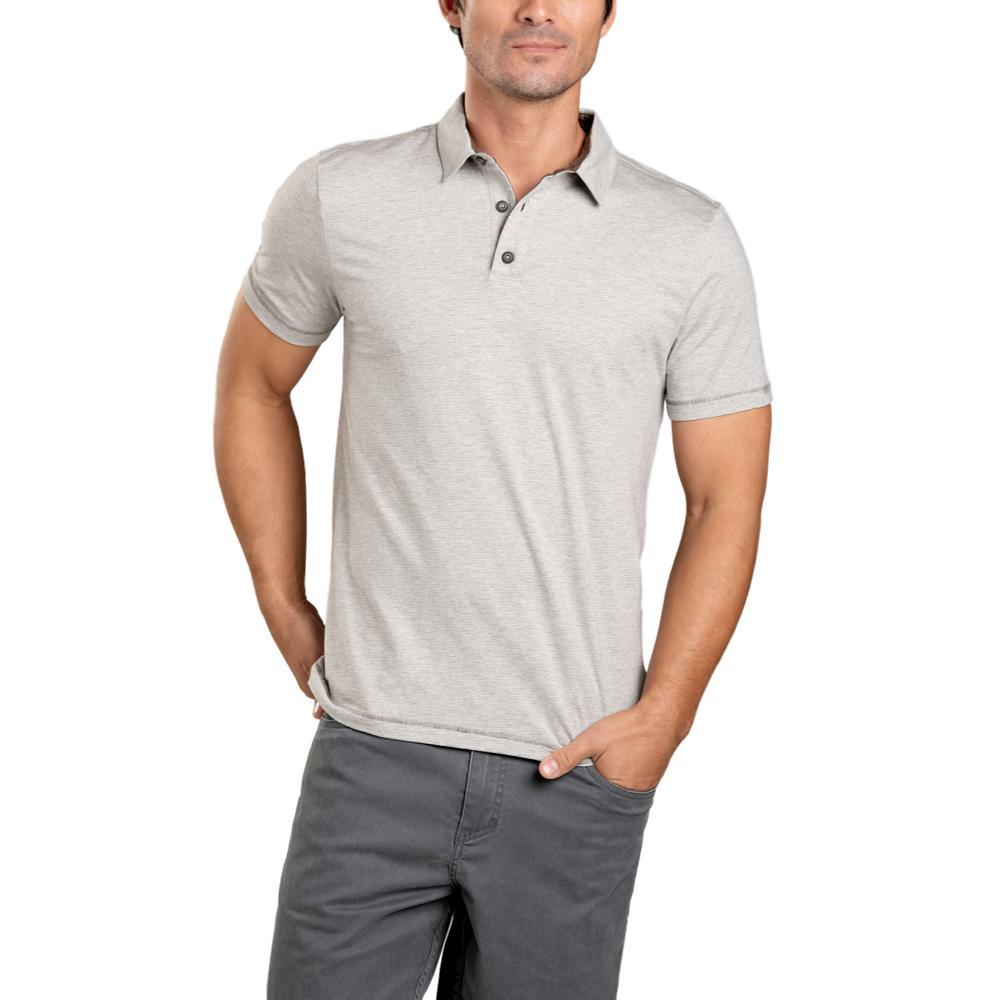 Toad&Co Men's Tempo Short Sleeve Polo HTHRGREY
