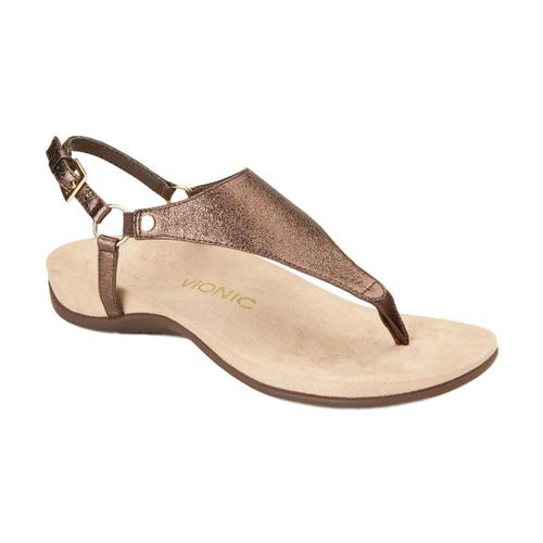 Vionic Women's Kirra Backstrap Sandals Brnz