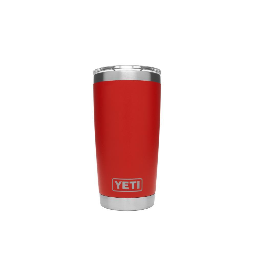 YETI Rambler 20oz Tumbler CANYON_RED