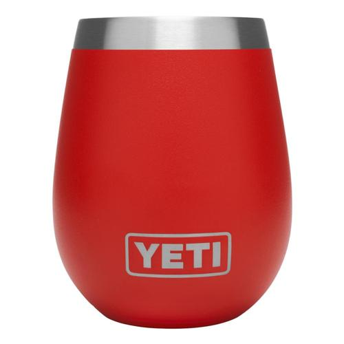YETI Rambler 10oz Wine Tumbler Canyon_red
