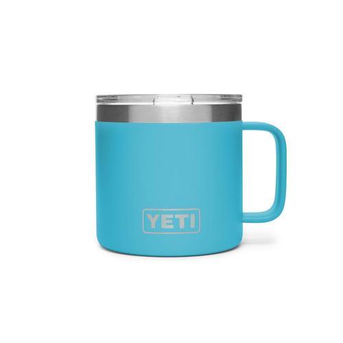 YETI Rambler 14oz Mug Reef_blue