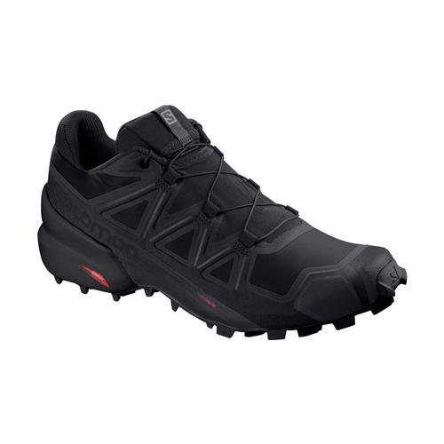 Salomon Men's Speedcross 5 Trail Running Shoes Blk.Blk.Phant