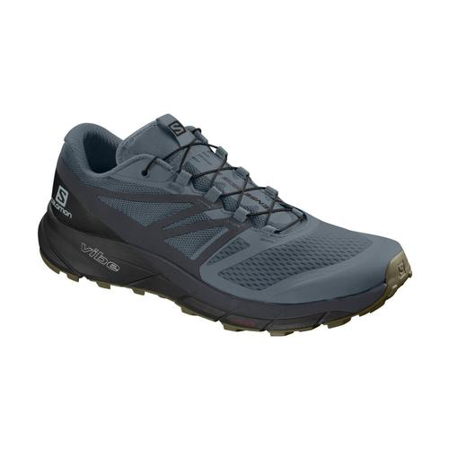 Salomon Men's Sense Ride 2 Trail Running Shoes Strm.Ebny.Blk