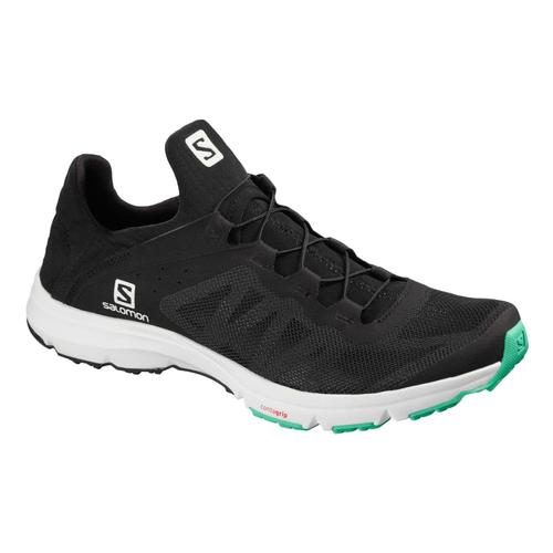 Salomon Women's Amphib Bold Water Shoes Blk.Wht.Egrn