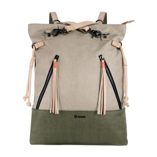 Sherpani Tempest Convertible Backpack Tote Naturlmoss