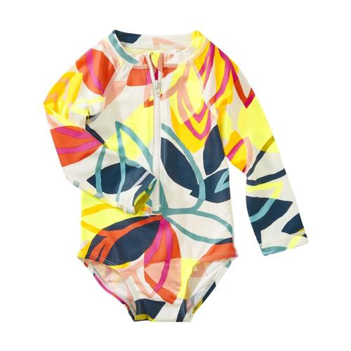 Tea Collection Printed Baby Rash Guard One Piece Tradewinds