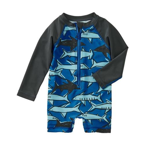 Tea Collection Infant Printed Shortie Rash Guard