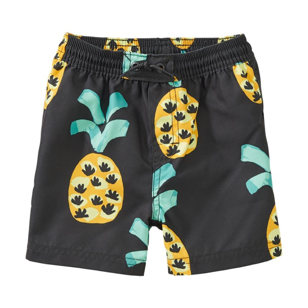 Tea Collection Printed Baby Swim Trunks PINEAPPLE