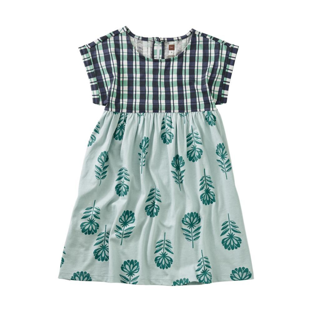 Tea Collection Girls Printed Empire Dress WATERCOLOR