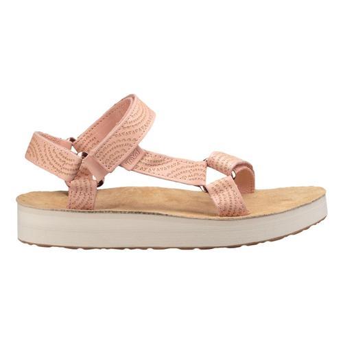 Teva Women's Midform Universal Geometric Sandals Tpeach_tpch