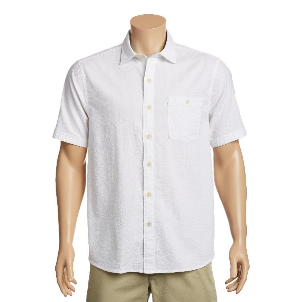 Tommy Bahama Men's Corvair Stretch-Cotton Short Sleeve Shirt WHITE