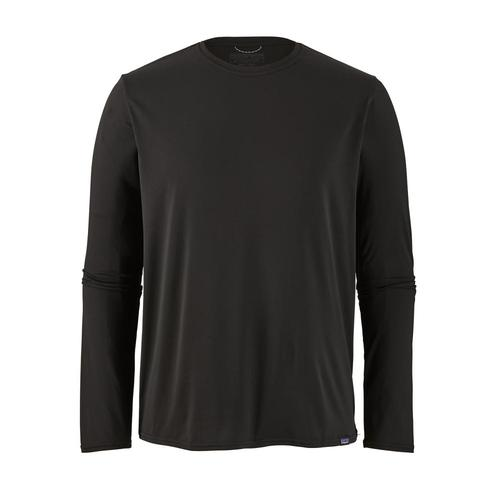 Patagonia Men's Long Sleeved Capilene Cool Daily Shirt Blk