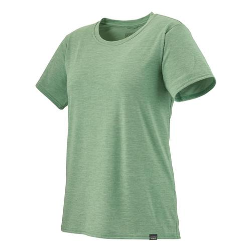 Patagonia Women's Capilene Cool Daily Shirt Green_gygx