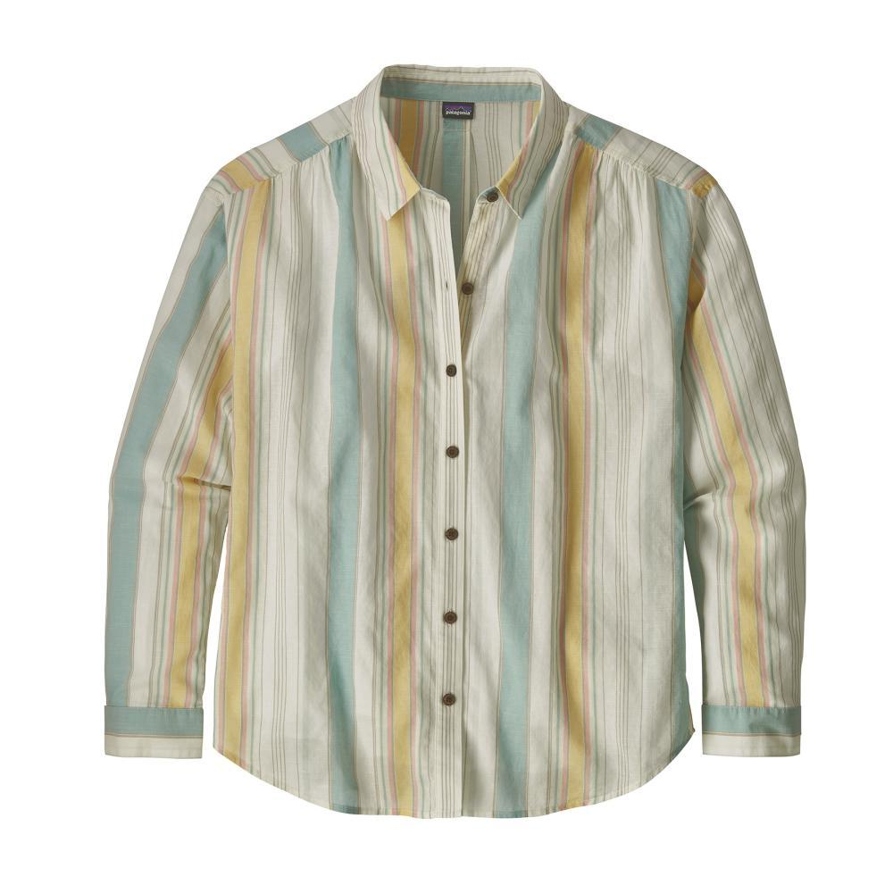 Patagonia Women's Lightweight A/C Boyfriend Shirt SUBW_BIRCH