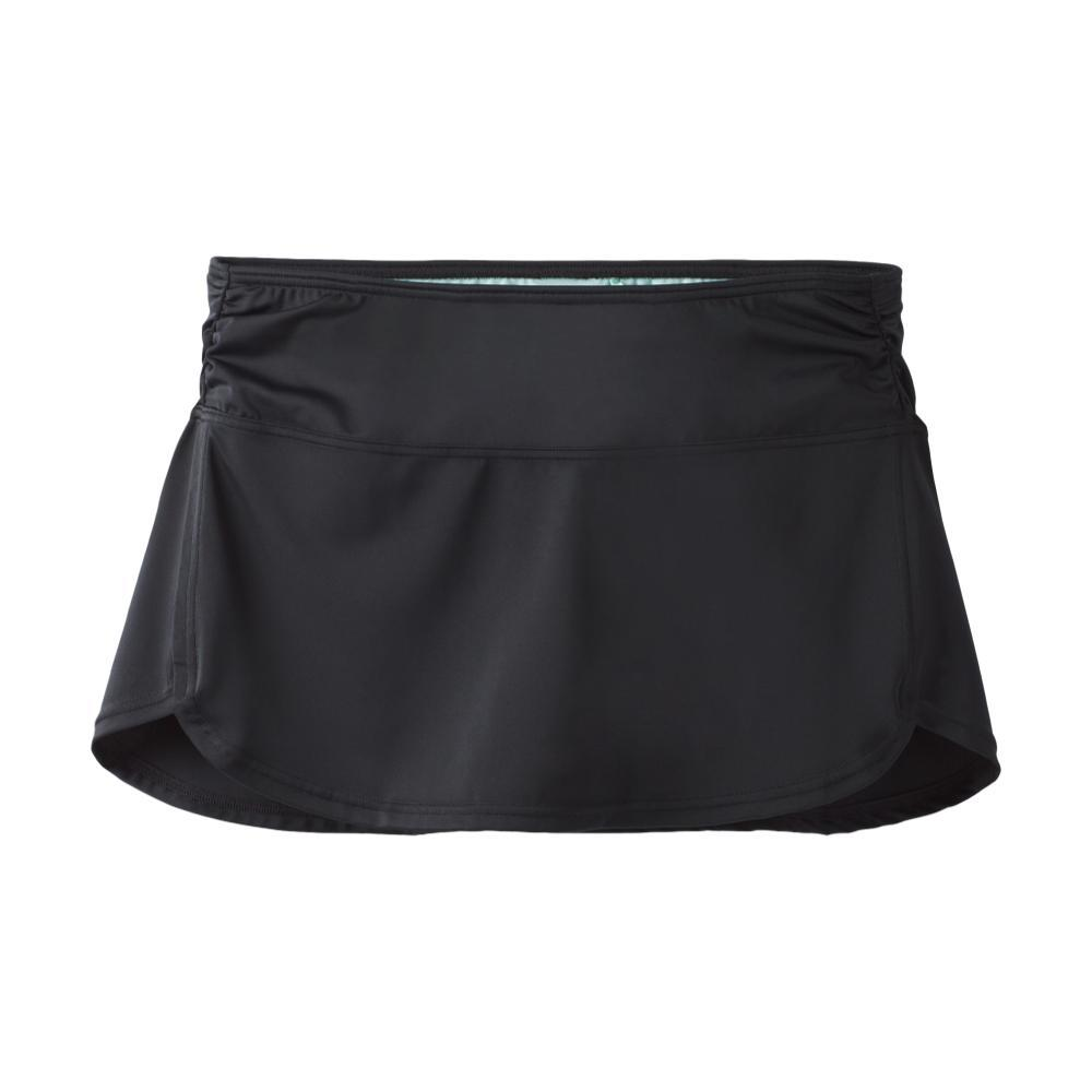 prAna Women's Lattie Skirted Bikini Bottom BLACK