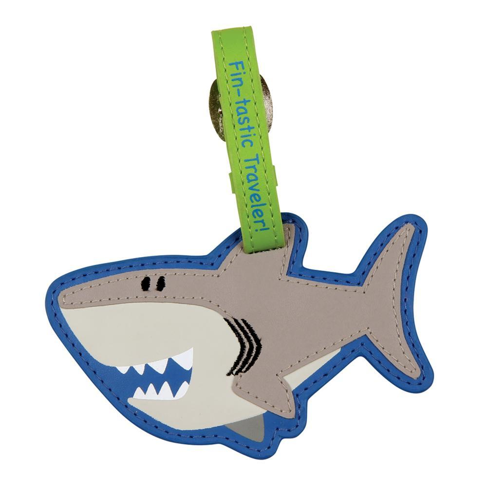 Stephen Joseph Kids Luggage Tag SHARK80A